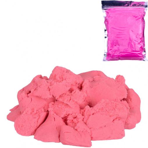 Кинетический песок розовый 500г 001-2