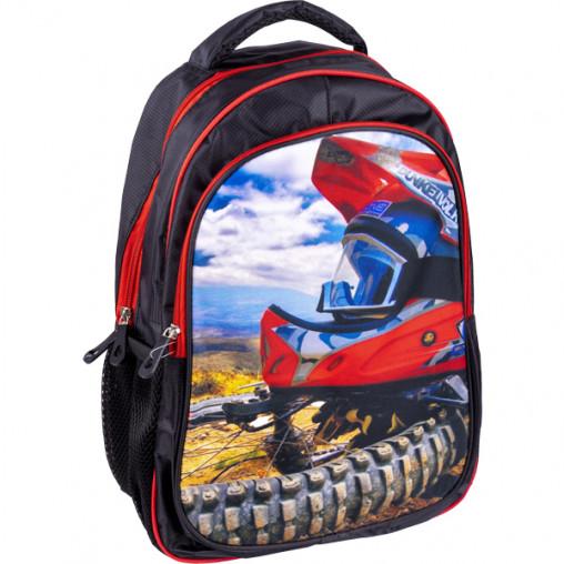 """Рюкзак California M """"Байк и шлем""""  42*29*13см 980656"""