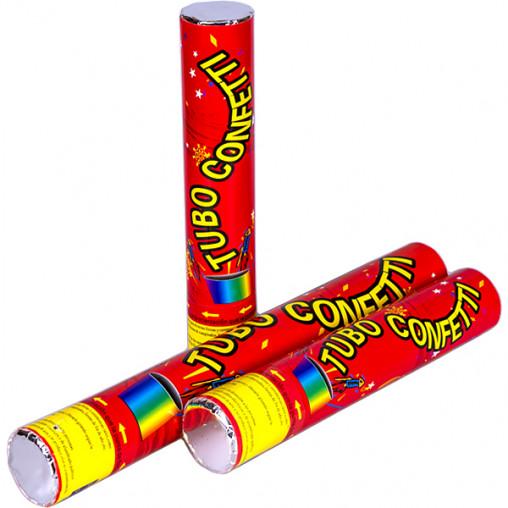 Хлопушка Tubo confetty 40см 6106-4