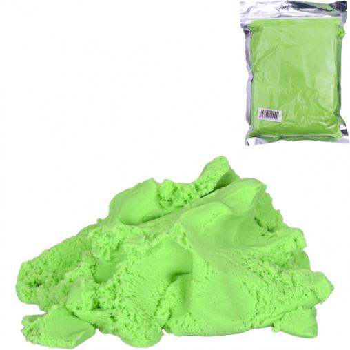 Кинетический песок 2-05 зеленый 500г