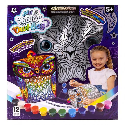 "Креативное творчество ""My Color Owl-Bag"" рюкзачок-сова рус. COWL-01-01 ДТ-ОО-09180"