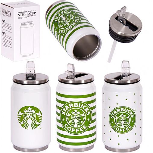Термокружка Starbucks Cola Bottle 350 мл 14*7см Х2-46