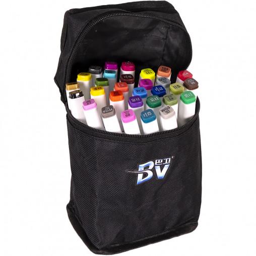 Набор скетч-маркеров 30 цветов BV800-30 в сумке