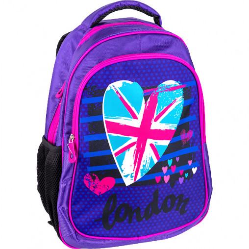 """Рюкзак California M """"Флаг Лондона""""  42*29*13см 980664"""