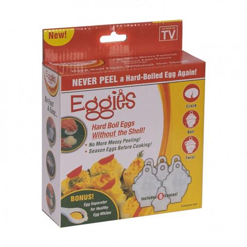 Формочки для варки яиц без скорлупы EGGIES 28613-20