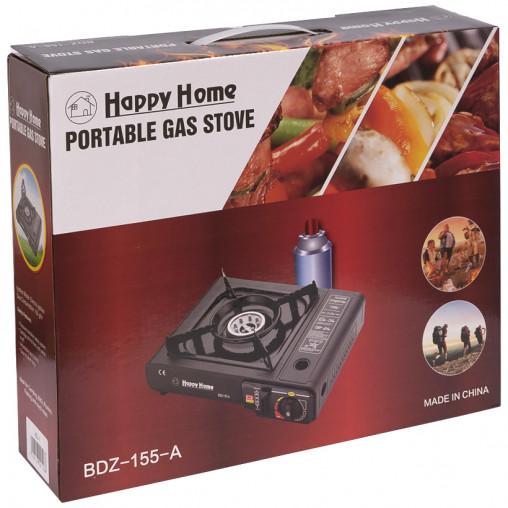 Плитка газовая портативная 1-ая Happy Home KSL-2