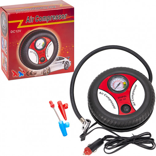 Компреcсор для шин в машину Air Compressor 260PSI X2-95