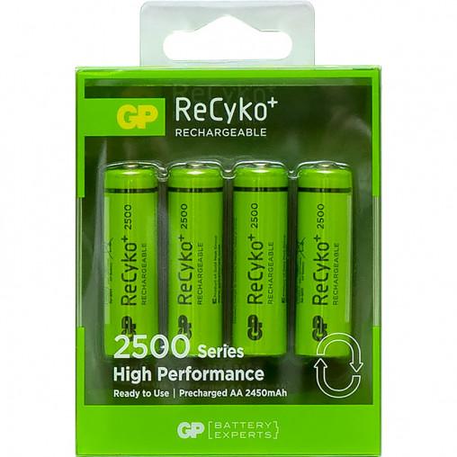 Аккумулятор АА GP NiMH 1.2V 250AAHСBE-2GBE4 ReCyko 2500 mAh GP-069918