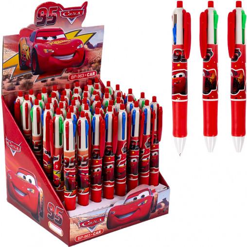 """Ручка детская 4 цвета """"Машинки"""" BP963"""