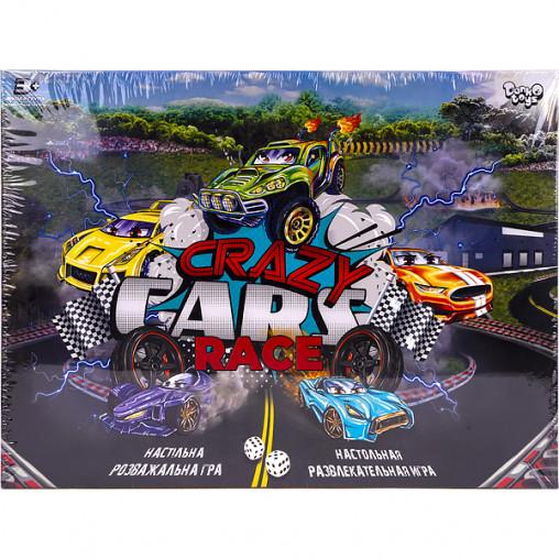 """Настольная игра """"Crazy Cars Race"""" DTG94R ДТ-ИМ-11-29"""