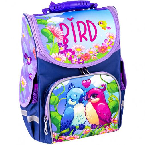 """Рюкзак-коробка ортопедический SPACE """"Birds"""" 33*26*13см 988750"""