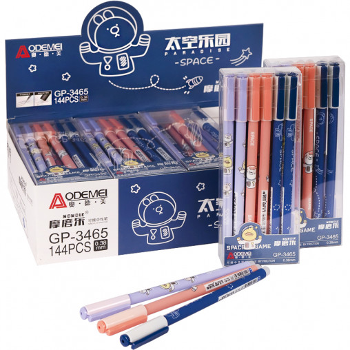 """Ручка """"пишет-стирает"""" 3465D синяя"""