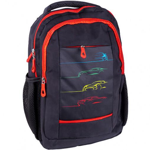 """Рюкзак California S """"Машини"""" черный 38*27*10см 980320"""