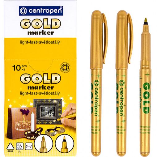 Маркер золотой 2670/12-gold CENTROPEN