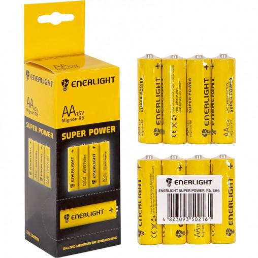 Батарейка ENERLIGHT R-6 SP-4 AA 40 штук 504226