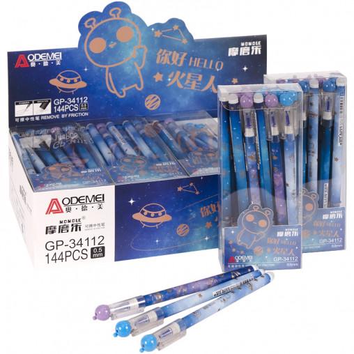 """Ручка """"пишет-стирает"""" 34112D синяя"""