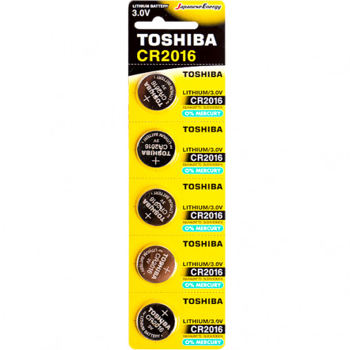 "Батарейка Toshiba ""таблетка"" CR 2016 588884/30411555"