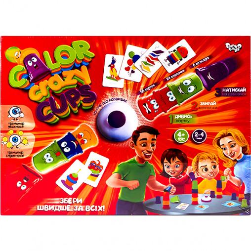 """Настольная развлекательная игра """"Color Crazy Cups"""" УКР CCC-01-01U ДТ-БИ-07-65"""