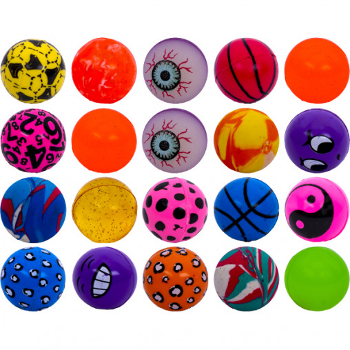 """Мяч """"Попрыгунчик"""" разноцветный, 32мм 14-33"""