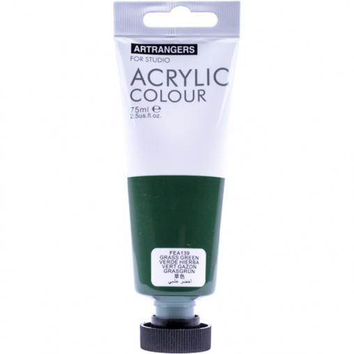 "Краска ""Art Ranger"" Acrylic 139 ""Grass green"" 75мл"