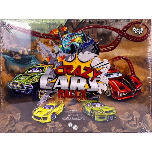"Настольная игра ""Crazy Cars Rally"" DTG93R ДТ-ИМ-11-30"