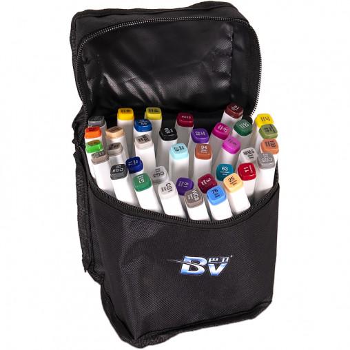 Набор скетч-маркеров 36 цветов BV800-36 в сумке