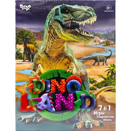 """Креативное творчество """"Dino Land 7 в 1"""" рус DL-01-01 ДТ-ОО-09301"""