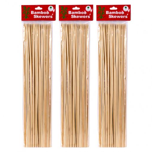Бамбуковые палочки для барбекю и гриля 35см*4мм X1-230