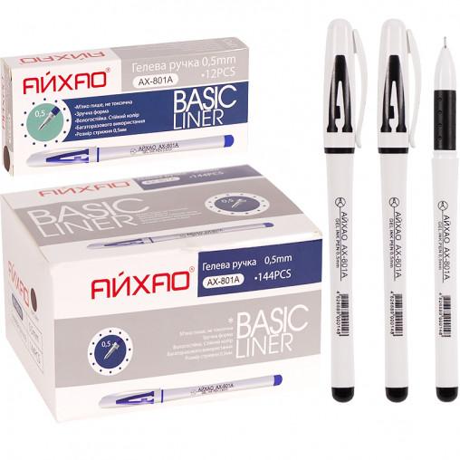 Ручка гелевая CL801A АЙХАО Original черная