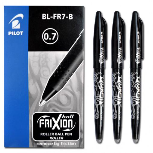 """Ручка """"пишет-стирает"""" BL-FR 0,7мм черная"""