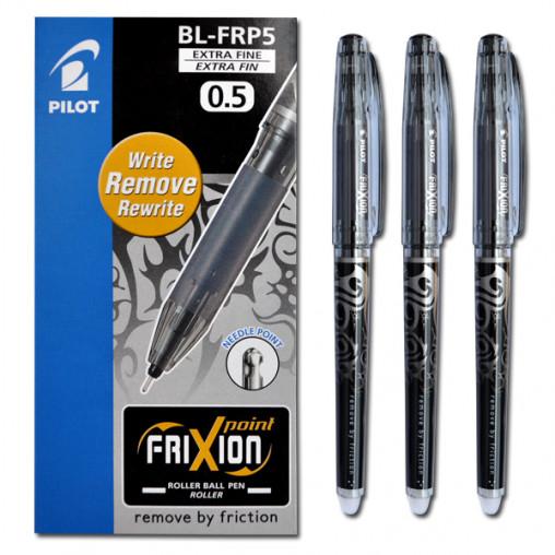 """Ручка """"пишет-стирает"""" BL-FR 0,5мм черная"""