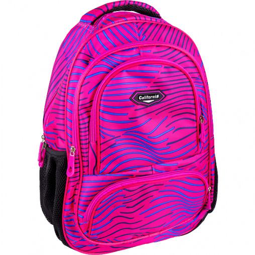 """Рюкзак California M """"Розовый"""" 42*29*13см 980495"""