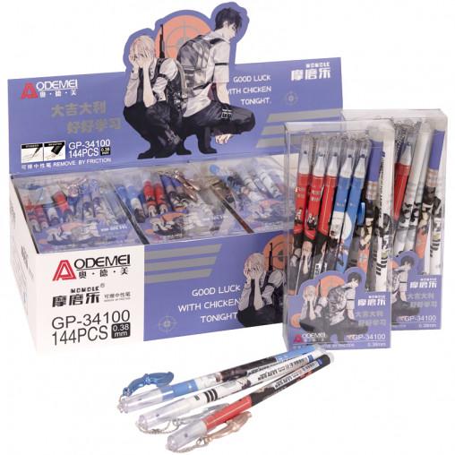 """Ручка """"пишет-стирает"""" 34100D синяя"""
