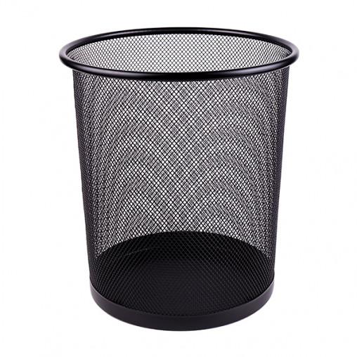 Корзина металлическая сетчатая 5003 black, черная 23*27*19см