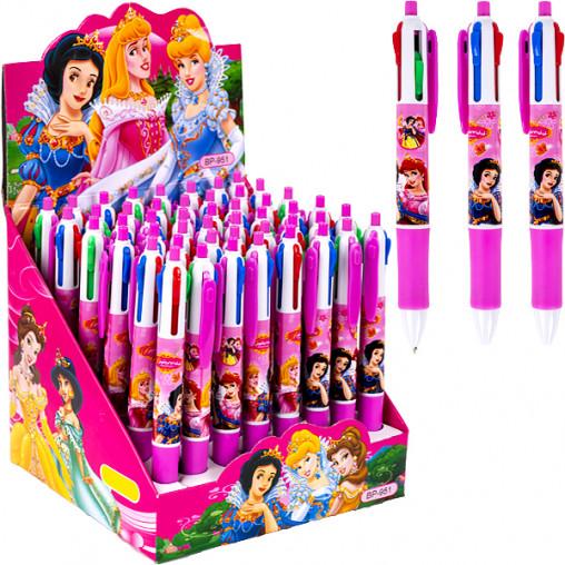 """Ручка детская 4 цвета """"Принцессы"""" BP951"""