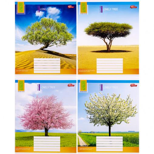 Тетрадь цветная 36 листов, линия 3118л