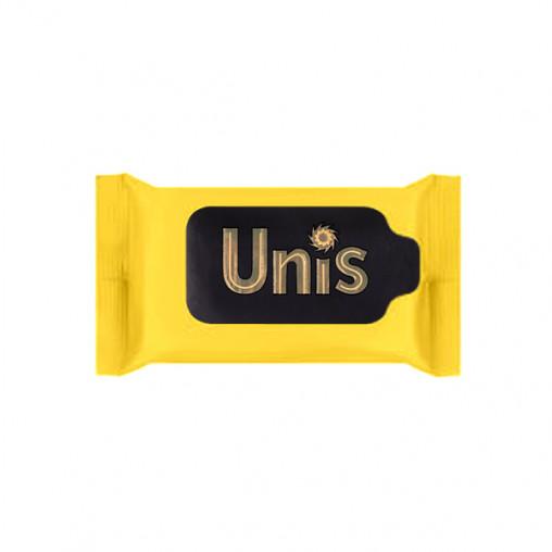 "Салф. вл. антибактеріальні ""UNIS"" Perfume Yellow 15 шт."