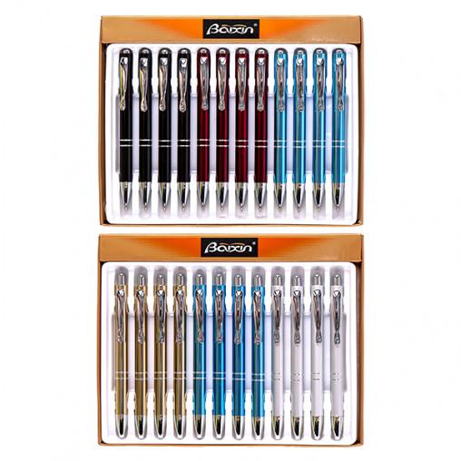"""Ручка подарочная """"BAIXIN"""" 2001 шариковая синяя"""