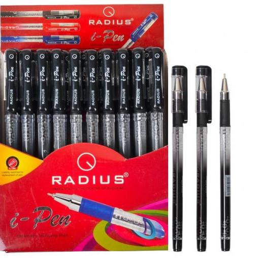 """Ручка """"I Pen"""" RADIUS диспенсер 50 штук, черная 500184"""