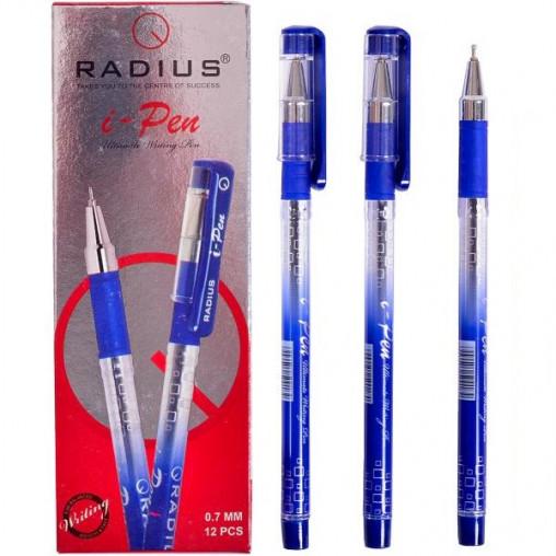 """Ручка """"I Pen"""" RADIUS с принтом 12 штук, синяя 500184"""