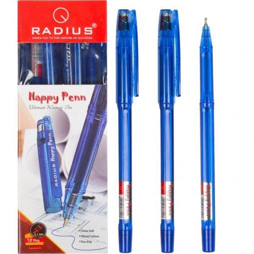 """Ручка """"Happy Penn"""" RADIUS 12 штук, cиняя 778996"""