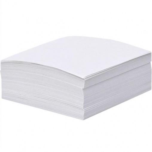 """Блок 200 листов 80*80мм белый офсет """"Коленкор"""" BSM8/200"""