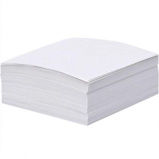 """Блок 500 листов 90*90мм белый офсет """"Коленкор"""" BSM9/500"""