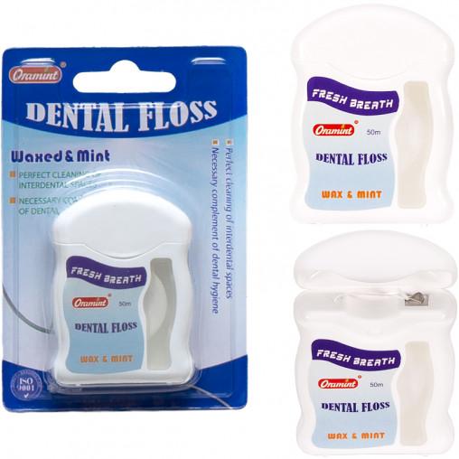 Зубная нить ORAMINT 50м 222