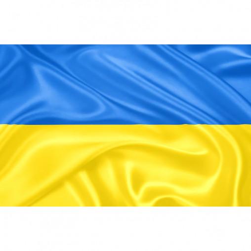"""Флаг """"Украина"""" 90*145 2-35"""