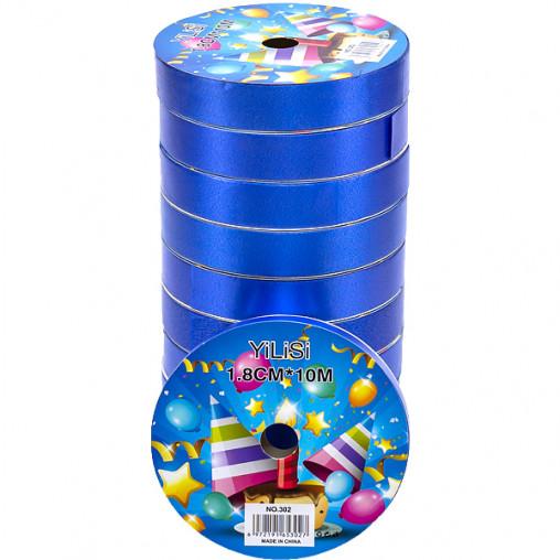 Лента 18мм*10м синяя, 10 штук 13-179