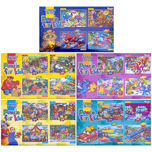 Пазлы детские 54 и 20 элементов K5420 ДТ-ПЗ-05-08