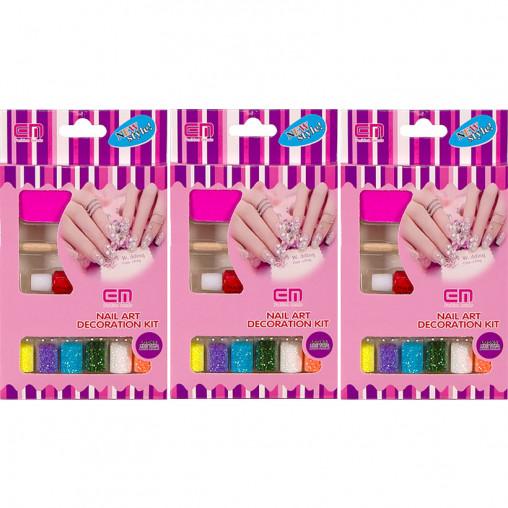 Набор для декорирования ногтей Глиттер 2068