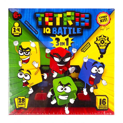 """Развлекательная игра """"Tetris IQ battle 3in1"""" УКР G-TIB-02U ДТ-БИ-07-63"""
