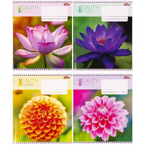Тетрадь цветная 36 листов, линия 3199 D
